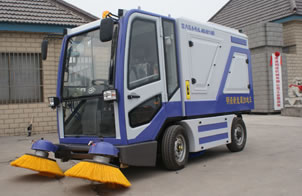 Electric Ride on Sweeper